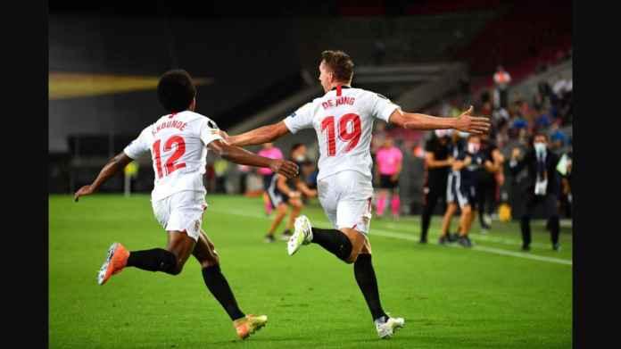 Hasil Final Liga Europa: Tiga Gol Header, Sevilla Juara Keenam Kalinya!