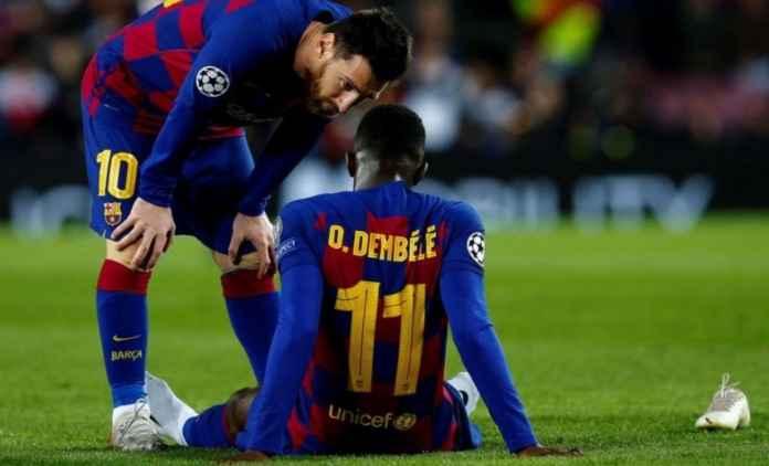 Manchester United jadikan pemain Barcelona Ousmane Dembele sebagai target transfer pengganti Jadon Sancho