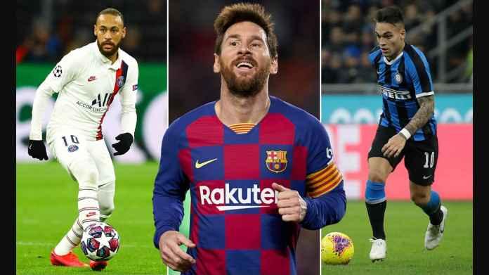 Barcelona Batal Transfer Neymar dan Lautaro Martinez, Rugi 3,5 Trilyun