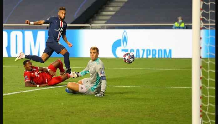 Neymar dan Lewandowski, Dua Nyaris Gol Babak Pertama Final Liga Champions