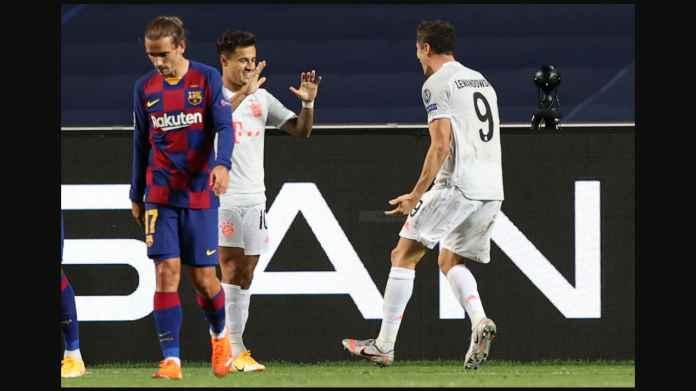 Coutinho Garami Luka Barcelona, Terlibat Dalam 3 Gol Bayern Munchen