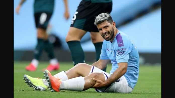 Sergio Aguero Diragukan Perkuat Manchester City Lawan Lyon