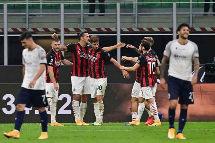 AC Milan Atasi Bologna, Pioli Puji Pemainnya