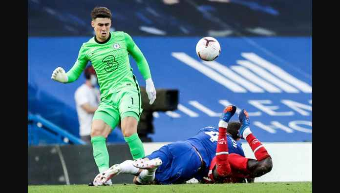 Chelsea vs Liverpool: Pahlawan The Blues Menit 13 Diusir Wasit Menit 45