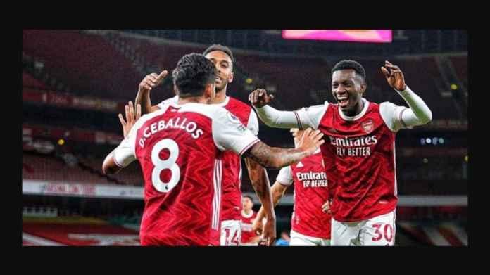Pemain Arsenal Paling Berjasa Tadi Malam Usia 19 Tahun, Gajinya Cuma 190 Juta