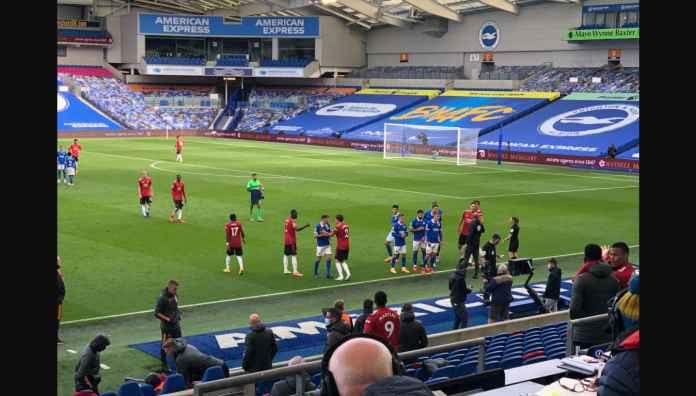 Sungguh Gila! Pertandingan Brighton vs Man Utd Sudah Diakhiri Wasit, Eh Dimulai Kembali
