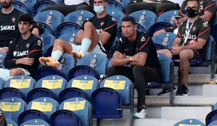 Cristiano Ronaldo akan absen dalam laga Portugal vs Swedia
