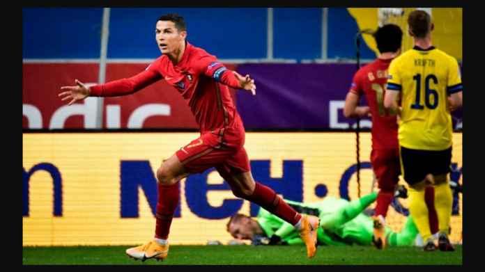 Man Utd Ucapkan Selamat Usai Ronaldo Tembus 100 Gol Internasional
