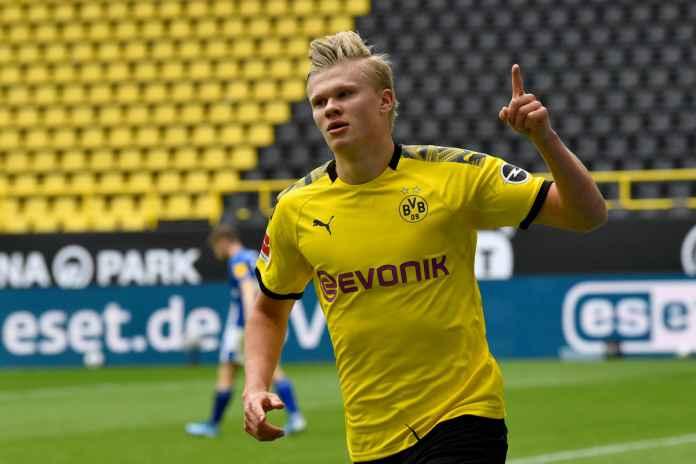 Erling Haaland Nikmati Karier di Bundesliga