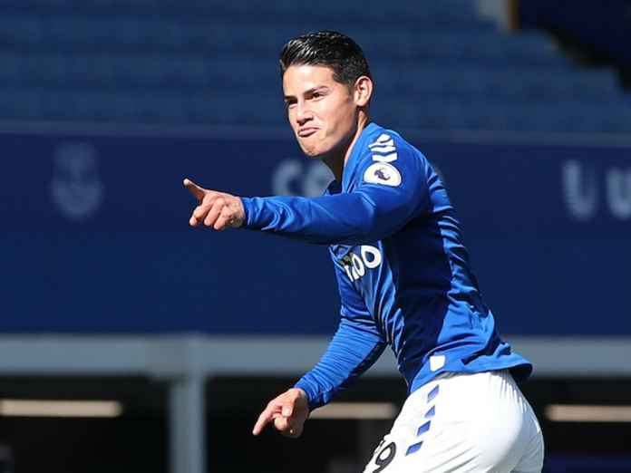 Gabung Everton, James Rodriguez Jadi Rekrutan Terbaik