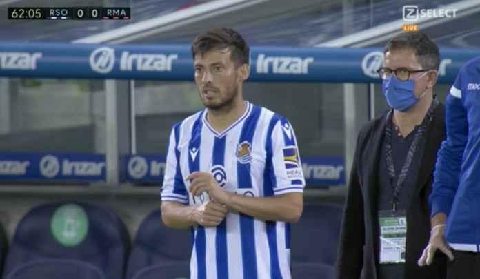 Hasil Real Sociedad vs Real Madrid - Hasil Liga Spanyol - David Silva - Karim Benzema