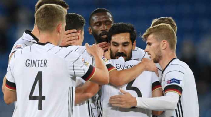 Hasil Swiss vs Jerman - Hasil UEFA Nations League Tadi Malam - Ilkay Gundogan
