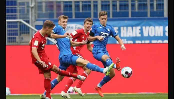 Hasil Liga Jerman: Katanya Bayern Munchen Juara Eropa, Kok Kalah 4-1 di Hoffenheim