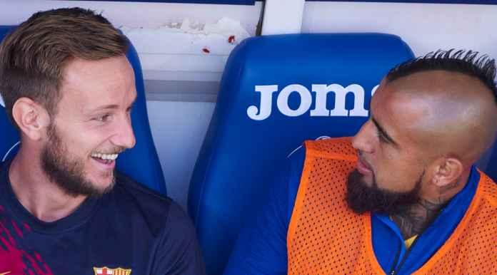 Ivan Rakitic dan Arturo Vidal dijual Barcelona