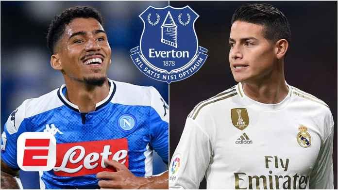 James Rodriguez dan Allan Jalani Tes Medis di Everton
