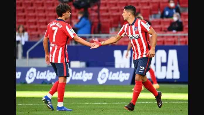 Hasil Liga Spanyol: Luis Suarez Cetak 2 Gol Pada Debutnya, Atletico Madrid Menang 6-1 Granada