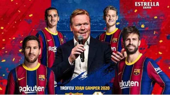 Barcelona Undang Klub Promosi di Trofi Joan Gamper