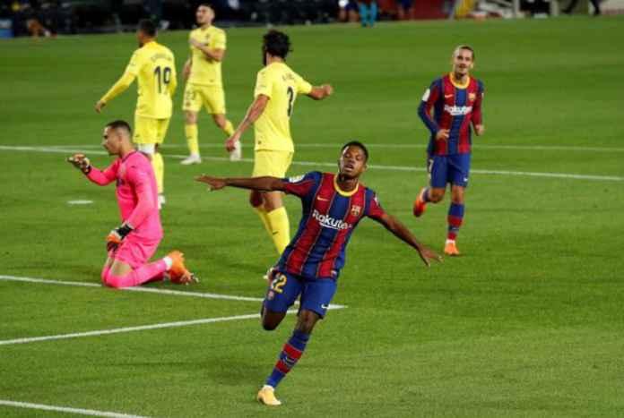 Ansu Fati Ditolak Jadi Man of The Match di Barcelona vs Villarreal