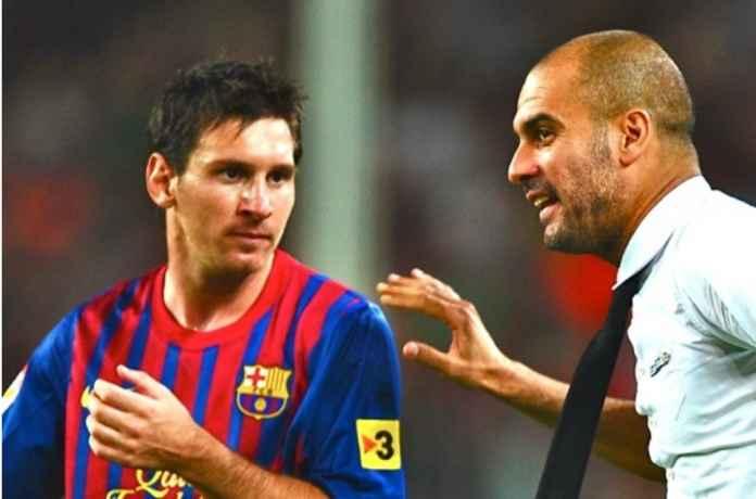 Pep Guardiola Malah Sarankan Lionel Messi Bertahan di Barcelona