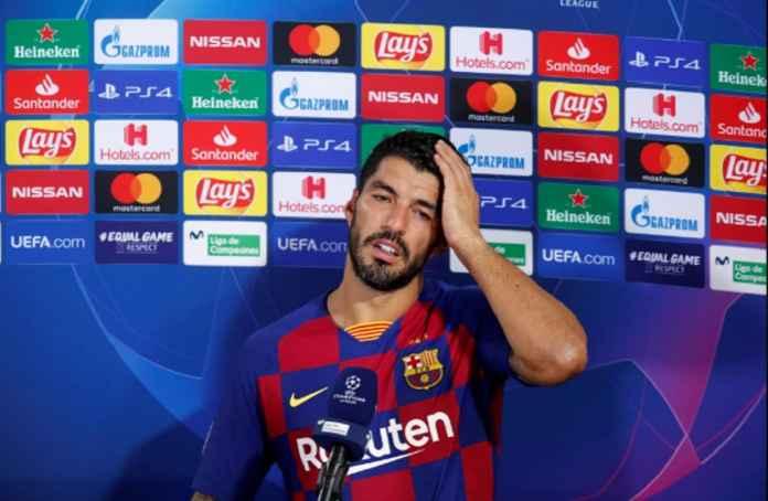 Luis Suarez Banjir Air Mata Saat Tinggalkan Barcelona Menuju Atletico