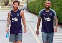 Lionel Messi Yakin Main Bareng Arturo Vidal Lagi