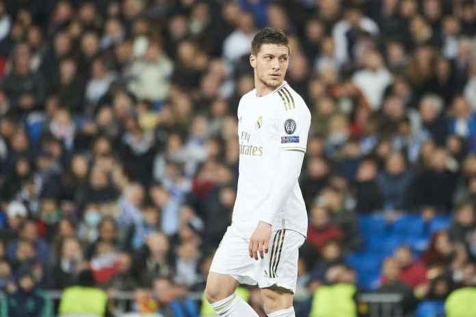Luka Jovic Berpotensi Kembali ke Eintracht Frankfurt