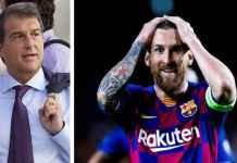 Mantan Presiden Barcelona yang kembali mencalonkan diri memberikan jaminan kepada Lionel Messi