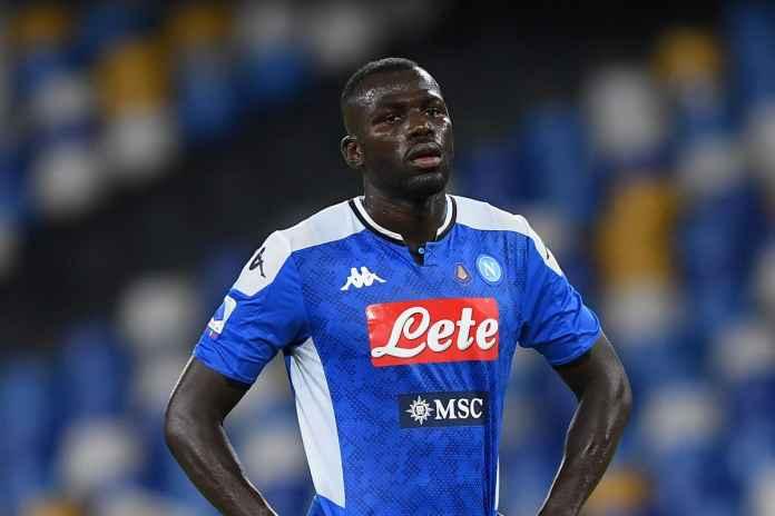 Napoli masih menunggu tawaran Man City untuk Koulibaly
