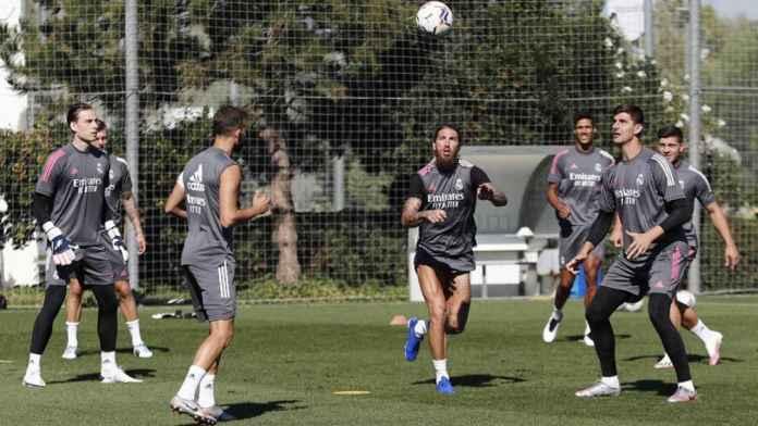 Pemain Real Madrid mulai berlatih kembali untuk menghadapi musim baru Liga Spanyol