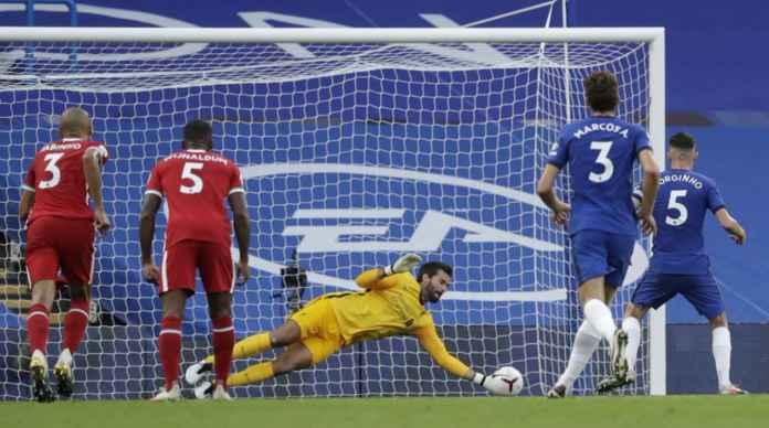 Sudah Gagal Penalti Bagi Chelsea, Jorginho Juga Terpeleset Memalukan