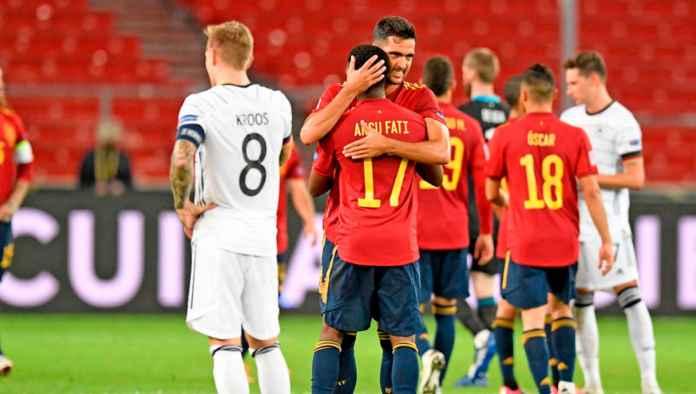 Prediksi Spanyol vs Ukraina - Jadwal Liga Bangsa-bangsa UEFA Natione League malam ini