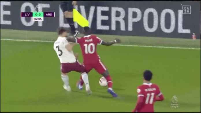 Jika Sadio Mane Kartu Merah Menit 2, Hasil Liverpool vs Arsenal Bisa Berbeda