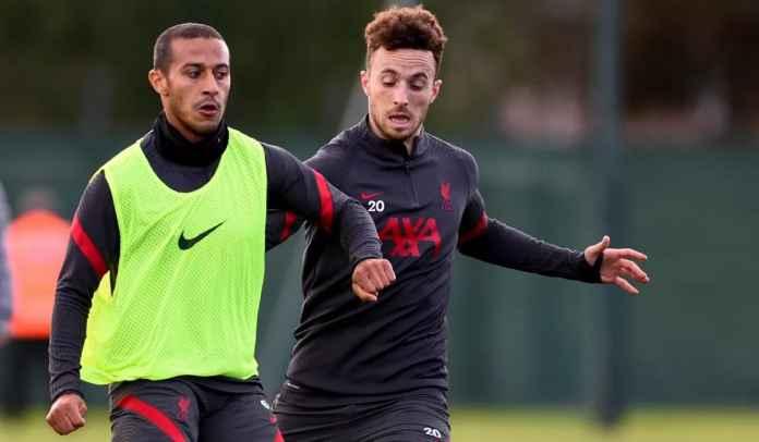 Thiago Alcantara Juga Bakal Absen Untuk Dua Laga Liverpool Berikutnya