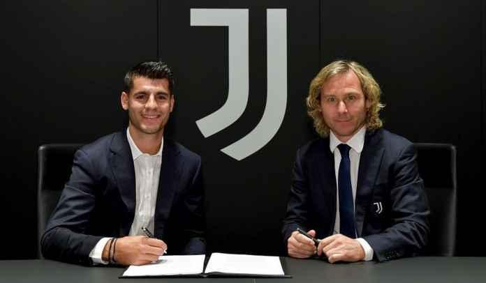 RESMI! Alvaro Morata Kembali ke Juventus, Transfer Luis Suarez ke Atletico Tuntas