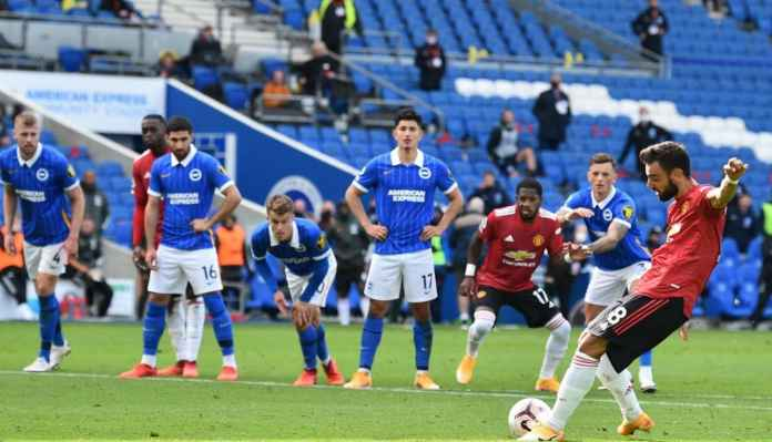 Bruno Fernandes Sebut Sepak Bola Itu Soal Mencetak Gol, Bukan Nembak Tiang Gawang