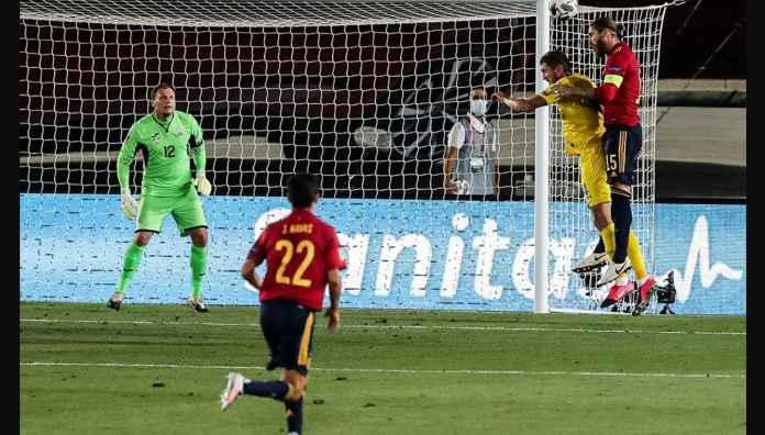 Lihat Gol-gol La Roja Pada Laga Spanyol vs Ukraina di UEFA Nations League
