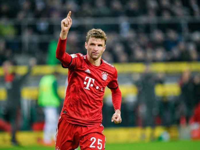 Thomas Muller Dipuji Selangit Eks Pelatih Real Madrid