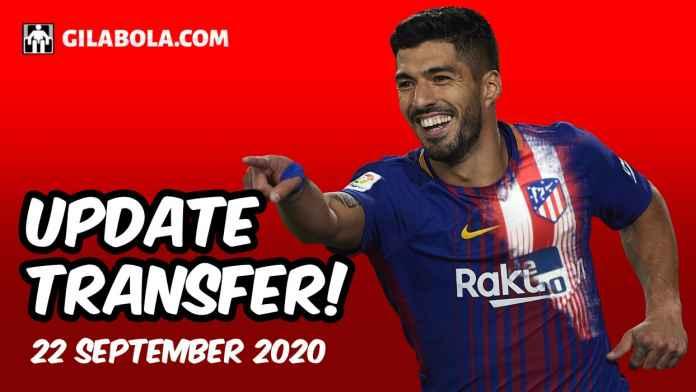 update berita transfer liga inggris spanyol italia jerman indonesia 22 september 2020