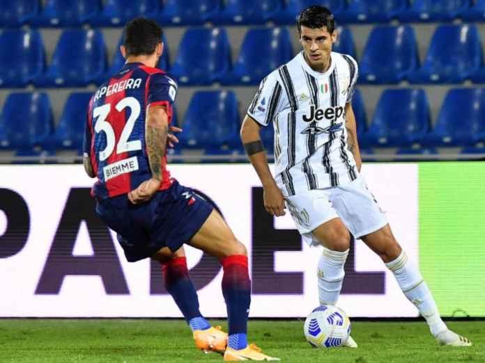 Alvaro Morata Sindir Juventus setelah diimbangi oleh Crotone