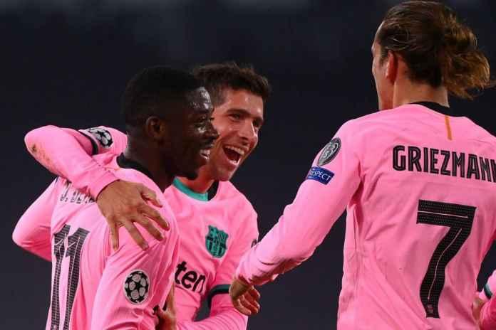 Barcelona Atasi Juventus, Sergi Roberto Girang