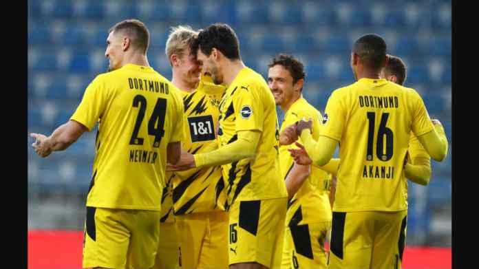 Hasil Arminia Bielefeld vs Borussia Dortmund: Hummels Bawa BVB ke Ranking 2