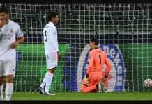 Real Madrid Hilang 5 Poin, Huni Dasar Klasemen Grup B Liga Champions