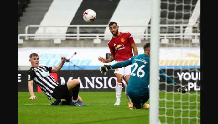 Katanya Spesialis Penalti Man Utd? Bruno Fernandes Cetak Gol Hebat Tadi Malam