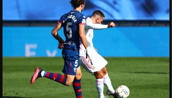 Eden Hazard Cetak Gol Lagi Bagi Real Madrid Setelah 392 Hari, Pada Laga Lawan Huesca