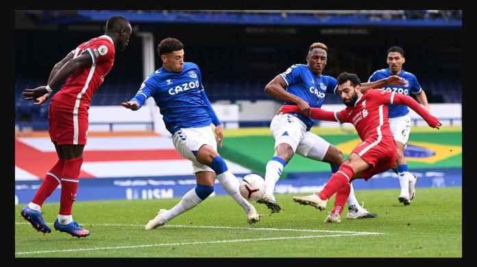 Hasil Everton vs Liverpool Wakili Pertarungan Calvert-Lewin vs Salah di Puncak Top Skor
