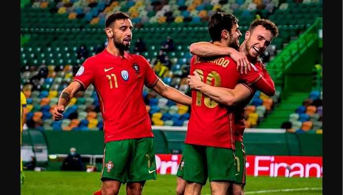 Hasil UEFA Nations League: Pengganti Ronaldo Bawa Portugal Menang