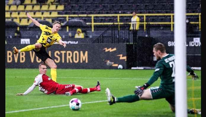 Hasil Liga Jerman: Dortmund Kalahkan Freiburg Dengan Gol-gol Haaland, Can, Passlack