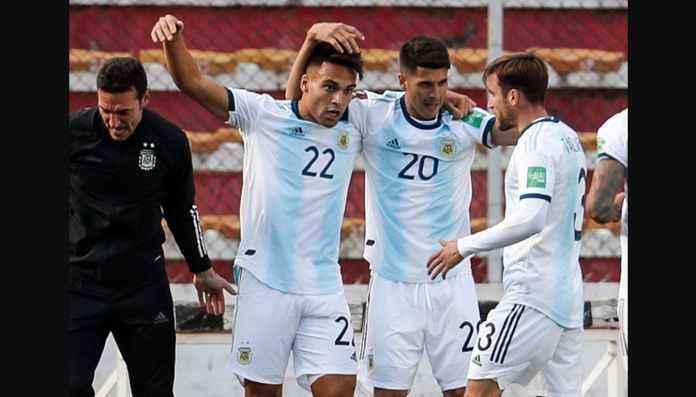 Hasil Bolivia vs Argentina 1-2, Albiceleste Atasi Hambatan Ketinggian