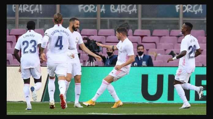 Selisih 4 Menit Dua Gol Terjadi Pada Laga Barcelona Kontra Real Madrid
