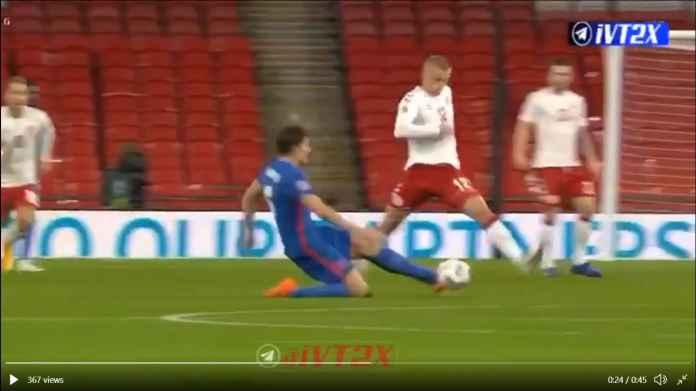 Harry Maguire Diusir Dalam Waktu 30 Menit Saja di Laga Inggris vs Denmark